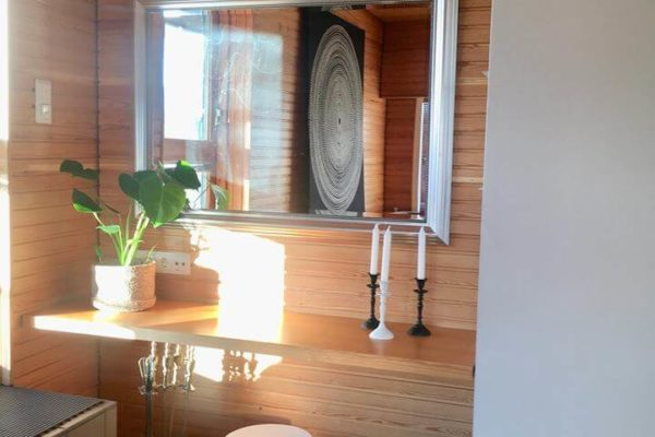 Takkahuone ja saunatilat